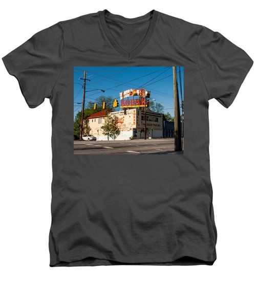 Men's V-Neck T-Shirt featuring the photograph Remember When? by Robert L Jackson