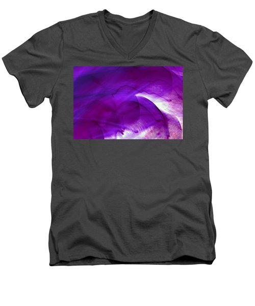 Remembrance - Purple Men's V-Neck T-Shirt