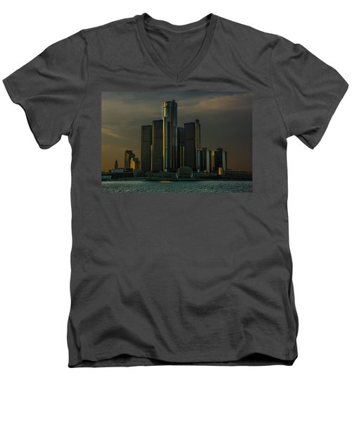 Renaissance Center Men's V-Neck T-Shirt