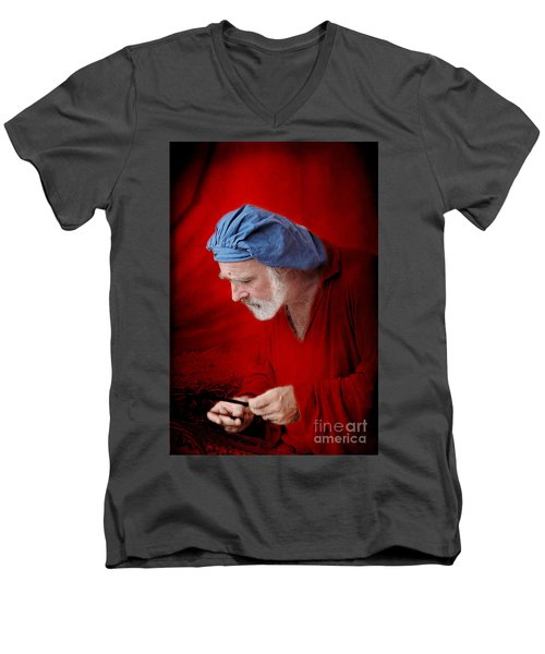 Renaissance Music Man Men's V-Neck T-Shirt