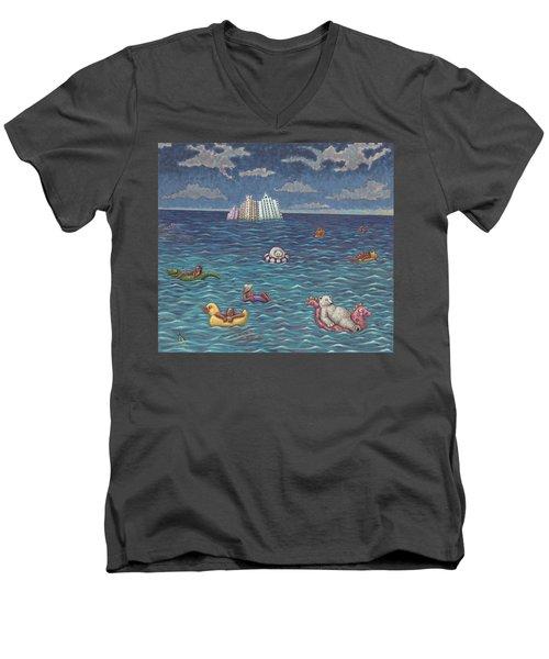 Resort Men's V-Neck T-Shirt