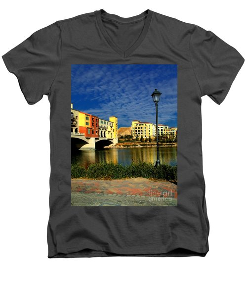 Resort In Henderson Nevada Men's V-Neck T-Shirt