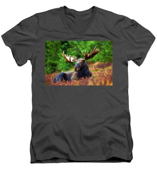 Resting In Peace Men's V-Neck T-Shirt