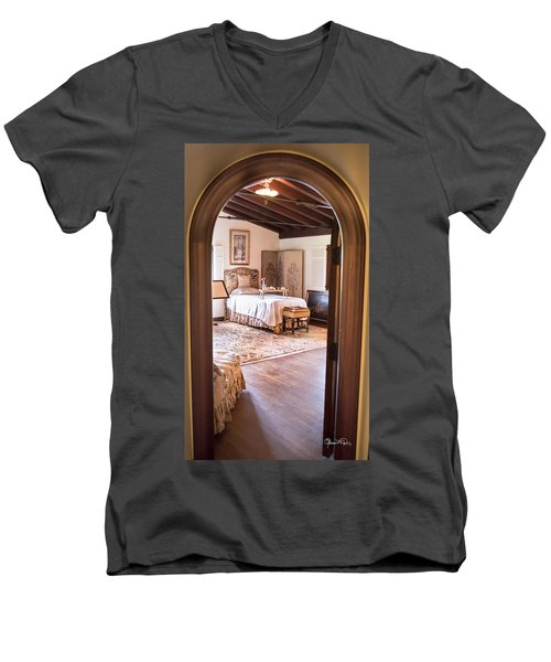 Retreat To The Past Men's V-Neck T-Shirt