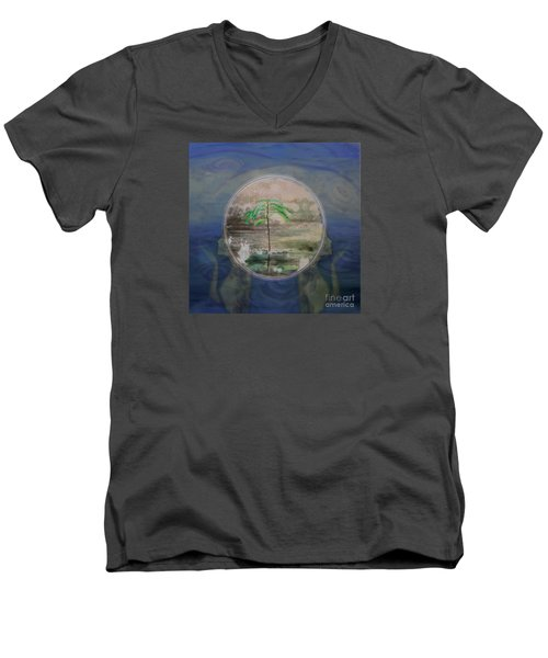 Return To A Half Remembered Dream Men's V-Neck T-Shirt