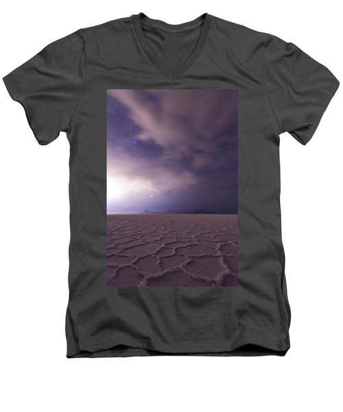 Silent Reverie Men's V-Neck T-Shirt