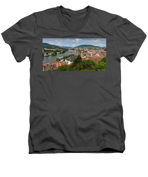 Rhine River Men's V-Neck T-Shirt
