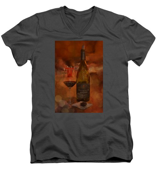Rich And Luscious Men's V-Neck T-Shirt by Carla Parris