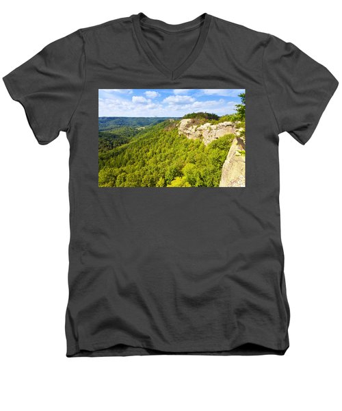 Ridge Top View Men's V-Neck T-Shirt