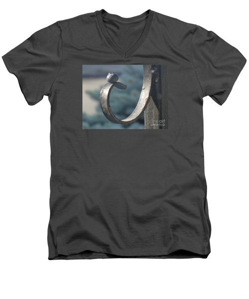 Men's V-Neck T-Shirt featuring the photograph Riding The Wave by Christina Verdgeline