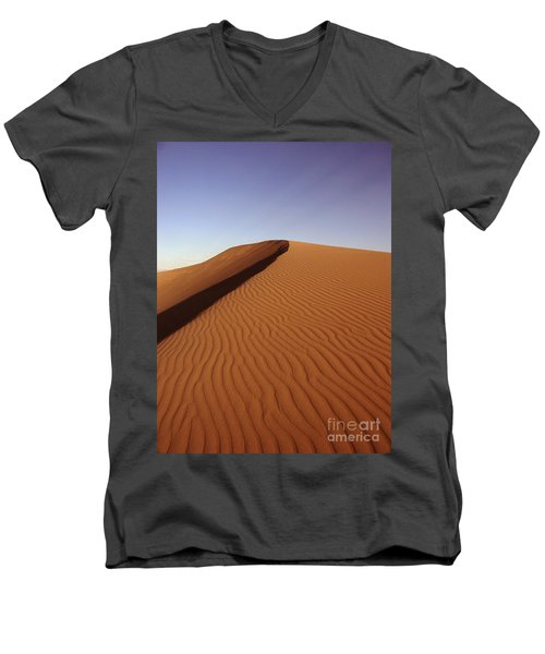 Ripples In The Sand Men's V-Neck T-Shirt