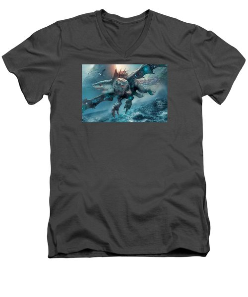 Riptide Chimera Men's V-Neck T-Shirt