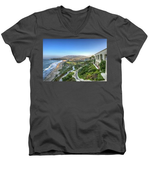 Ritz-carlton Laguna Niguel Ocean View Men's V-Neck T-Shirt