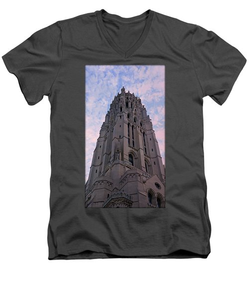 Riverside Church Men's V-Neck T-Shirt