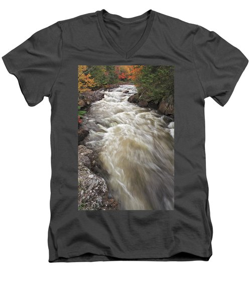 Riviere Du Diable Men's V-Neck T-Shirt