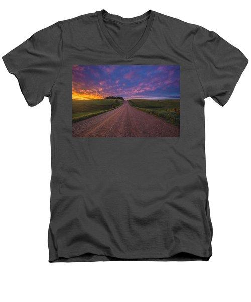 Road To Nowhere El Men's V-Neck T-Shirt