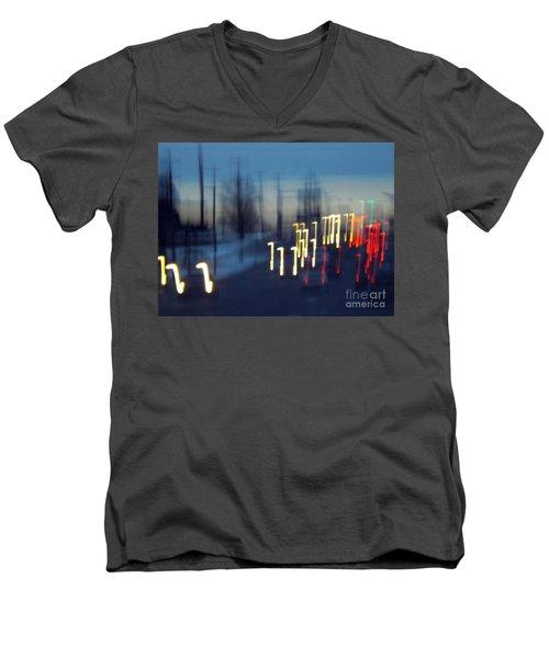 Road To Tomorrow Men's V-Neck T-Shirt