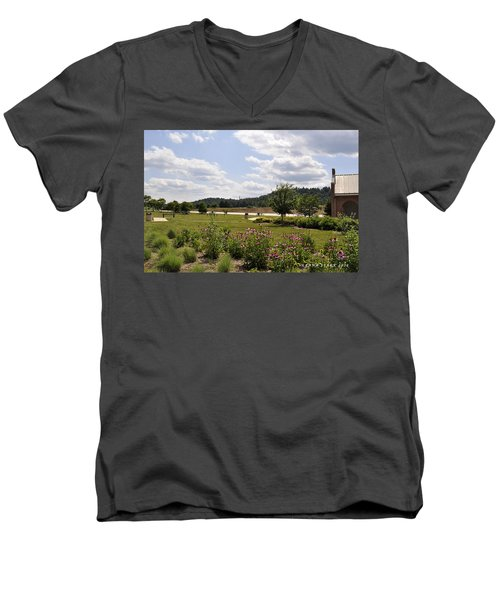 Men's V-Neck T-Shirt featuring the photograph Road Trip 2012 #2 by Verana Stark