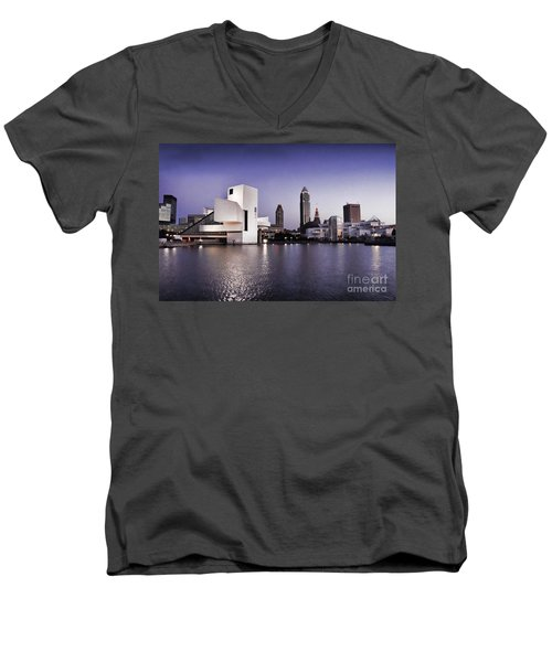 Rock And Roll Hall Of Fame - Cleveland Ohio - 2 Men's V-Neck T-Shirt