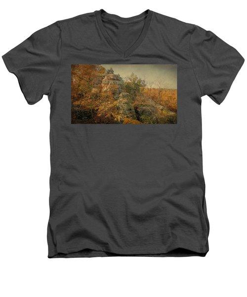 Rock Formation Men's V-Neck T-Shirt