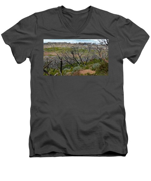 Rocky Outcrop Men's V-Neck T-Shirt