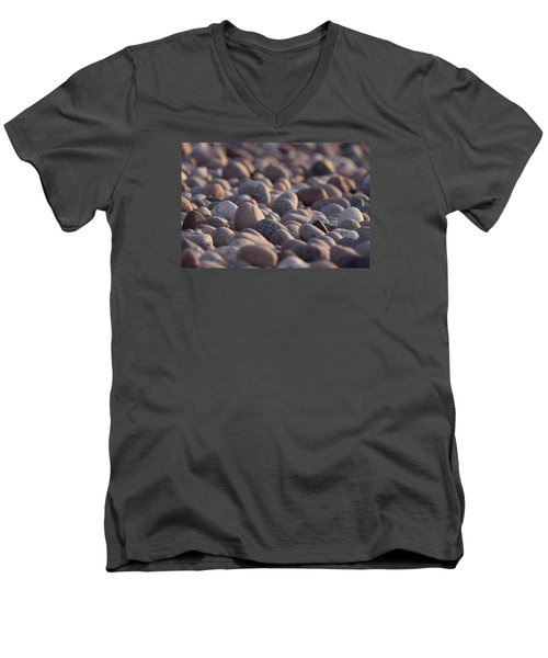Rocky Shore Men's V-Neck T-Shirt