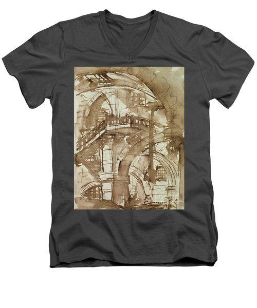 Roman Prison Men's V-Neck T-Shirt