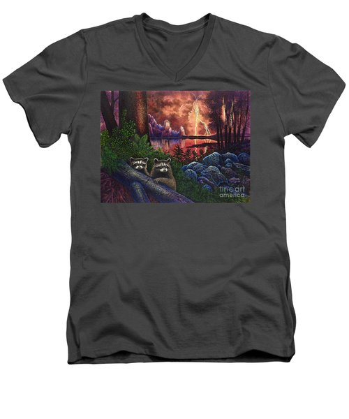 Romantique Men's V-Neck T-Shirt