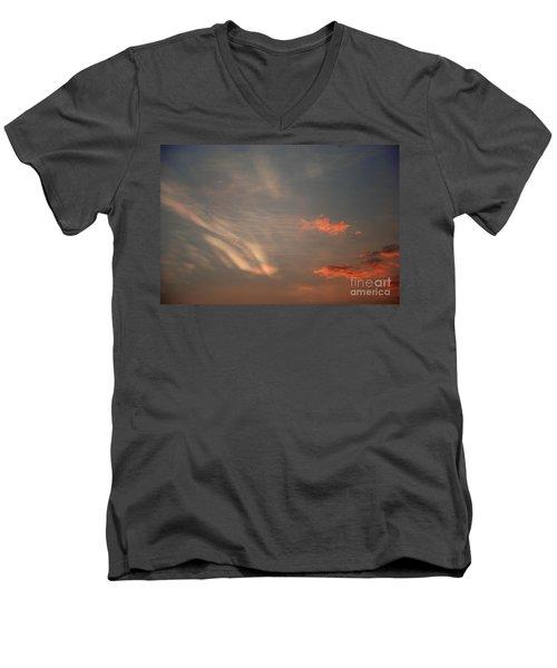 Romantic Sky Men's V-Neck T-Shirt