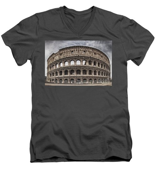 Rome Colosseum 02 Men's V-Neck T-Shirt