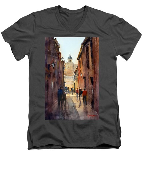 Rome Men's V-Neck T-Shirt