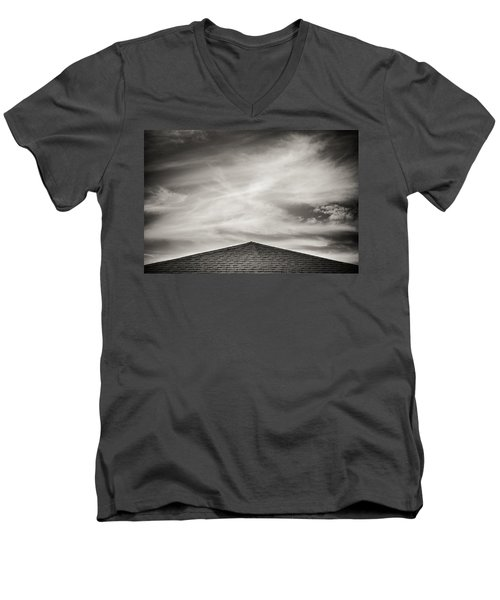 Rooftop Sky Men's V-Neck T-Shirt