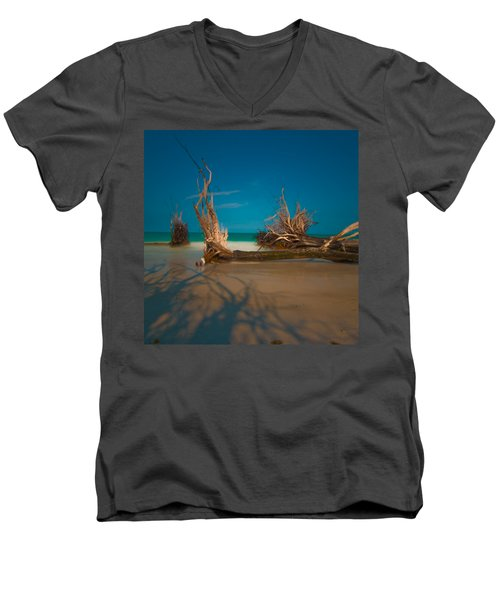 Roots 1 Men's V-Neck T-Shirt