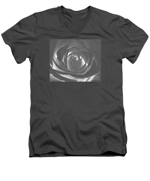 Men's V-Neck T-Shirt featuring the photograph Rose by Geraldine DeBoer
