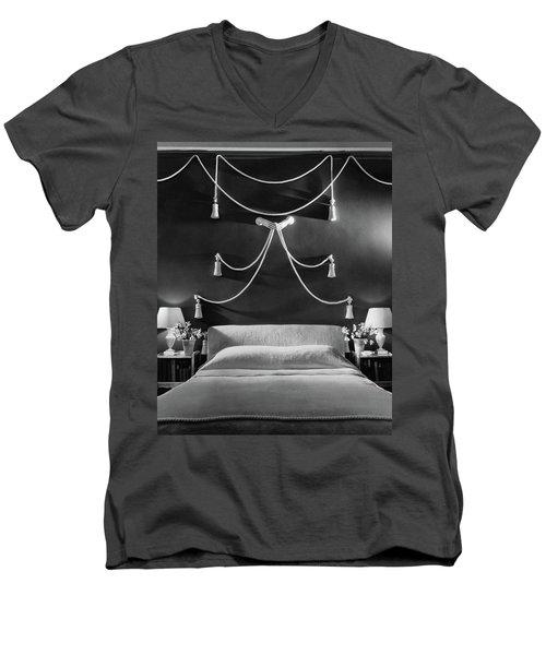 Rose Hobart's Bedroom Men's V-Neck T-Shirt