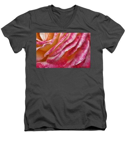 Rose Petals Men's V-Neck T-Shirt