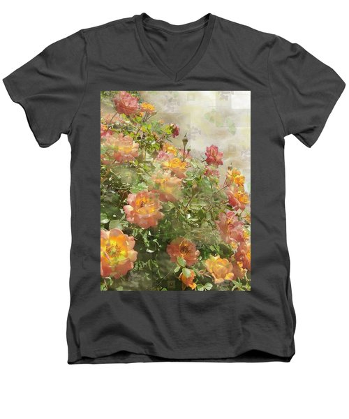 Rose Potpourri Men's V-Neck T-Shirt