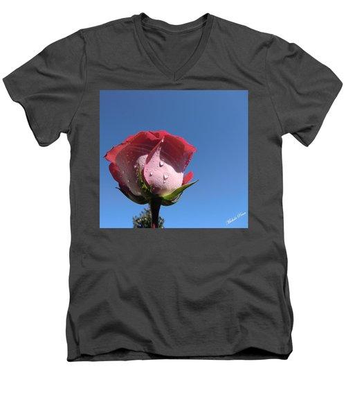 Excellence  Men's V-Neck T-Shirt