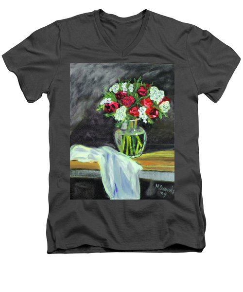Roses For Mother's Day Men's V-Neck T-Shirt