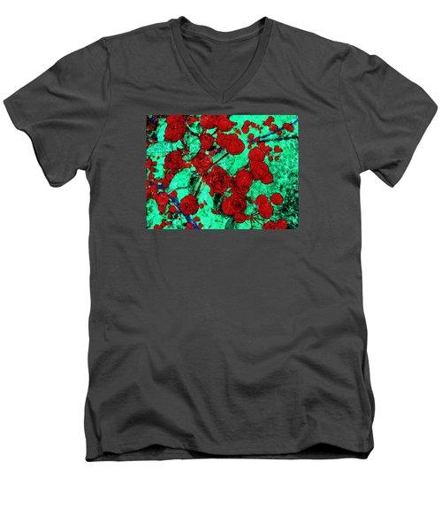 The Red Roses Men's V-Neck T-Shirt