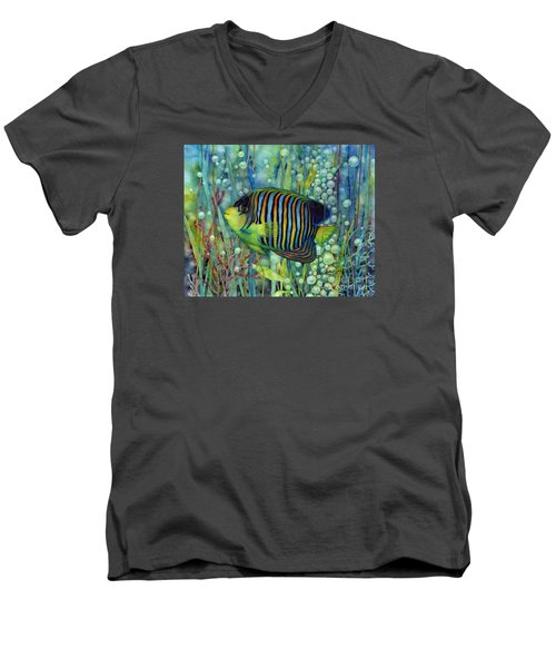 Royal Angelfish Men's V-Neck T-Shirt