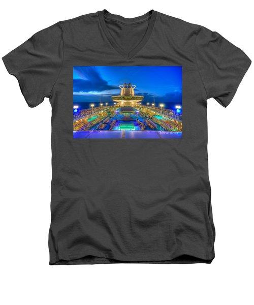 Royal Carribean Cruise Ship  Men's V-Neck T-Shirt