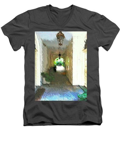 Royal Entrance Men's V-Neck T-Shirt