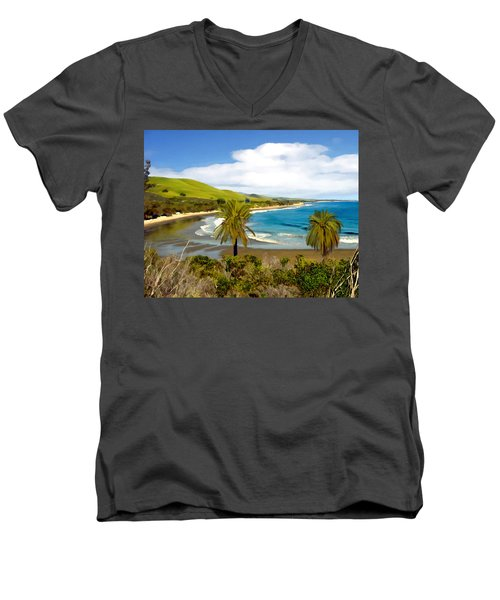 Rufugio Men's V-Neck T-Shirt