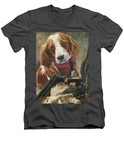 Rusty - A Hunting Dog Men's V-Neck T-Shirt