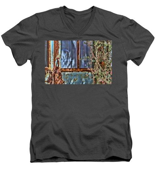 Rusty Charm By Diana Sainz Men's V-Neck T-Shirt