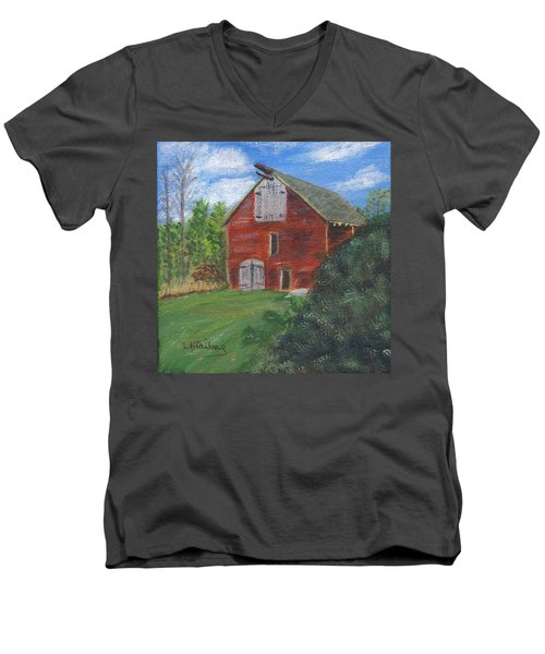 Ruth's Barn Men's V-Neck T-Shirt