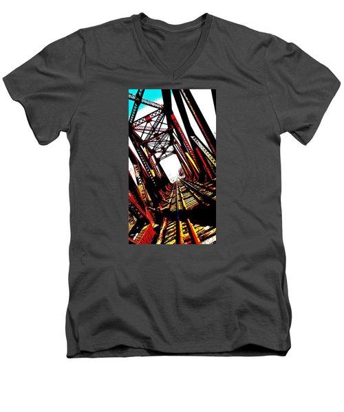 Rxr Bridge Polarized Men's V-Neck T-Shirt