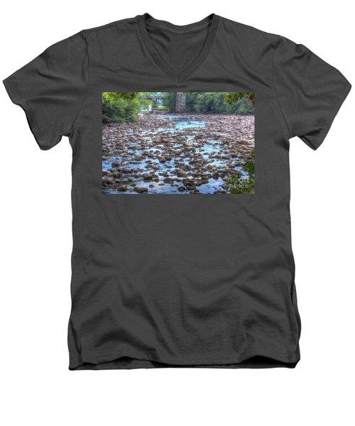 Sacandaga River Men's V-Neck T-Shirt