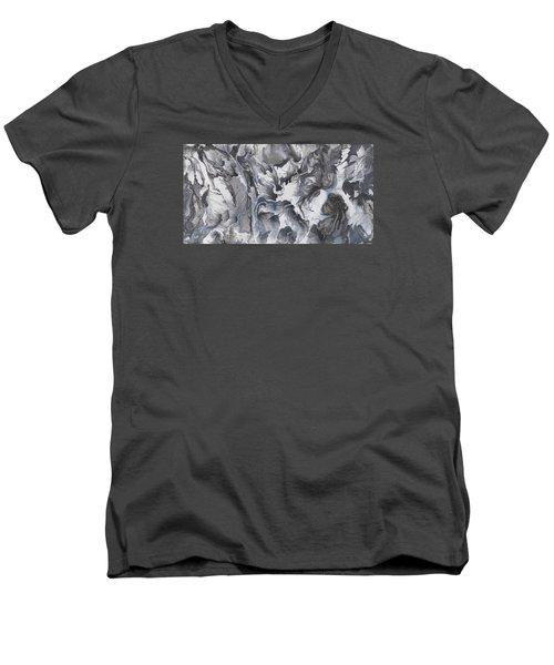 sac be III Men's V-Neck T-Shirt by Angel Ortiz